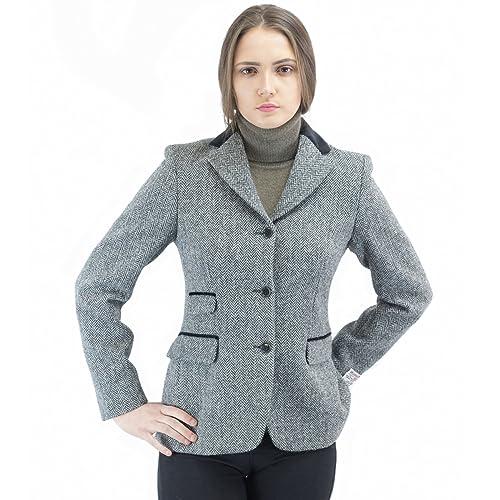 Harris Tweed – Chaqueta – chaqueta guateada – para mujer