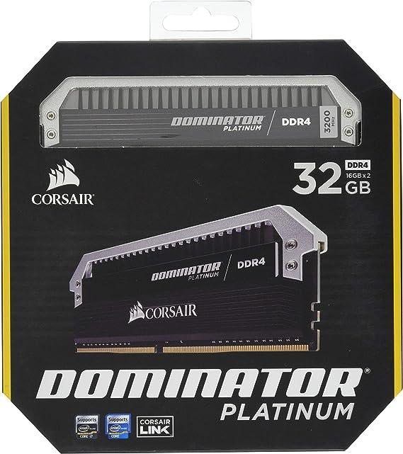 Corsair Dominator Platinum Ddr4 32gb C16 Computer Zubehör