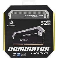 CORSAIR DOMINATOR Platinum 32GB (2x16GB) DDR4 3200 (PC4-25600) C16 for Intel 100