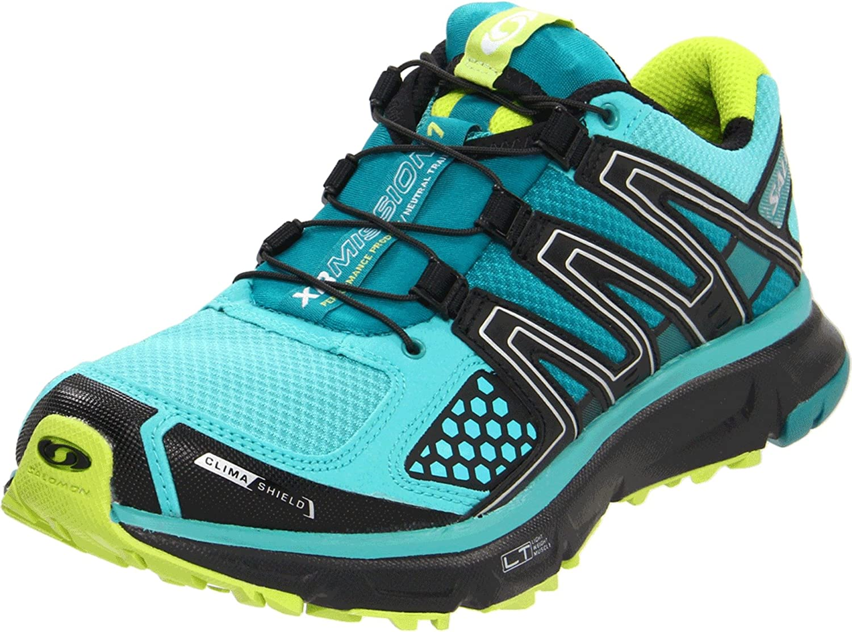 Salomon Mujer Zapatillas de Deporte Turquesa Size: 38 2/3 EU: Amazon.es: Zapatos y complementos