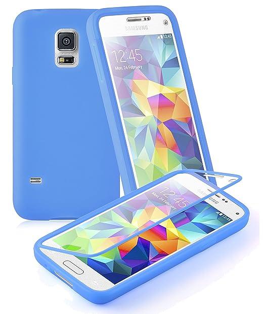 9 opinioni per Cadorabo- Custodia Silicone TPU per Samsung Galaxy S5 MINI Full Body con
