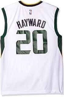 Amazon.com   adidas Gordon Hayward Utah Jazz Navy Swingman Jersey ... 30dcd4be8