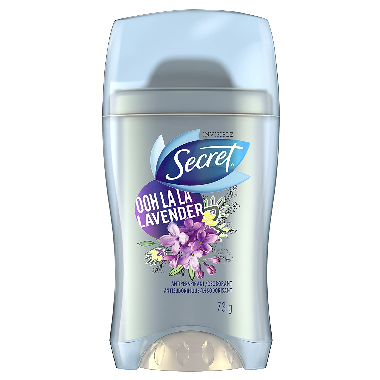 Secret Invisible Solid Antiperspirant And Deodorant Ooh La La Lavender 73g Procter and Gamble