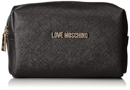 c8a31b9f35 Love Moschino Bustina Pu, Organiseurs de sacs à main femme, Noir (Nero)