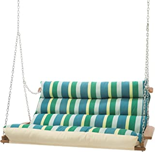 product image for Hatteras Hammocks Sunbrella Deluxe Cushion Swing - Gateway Tropic
