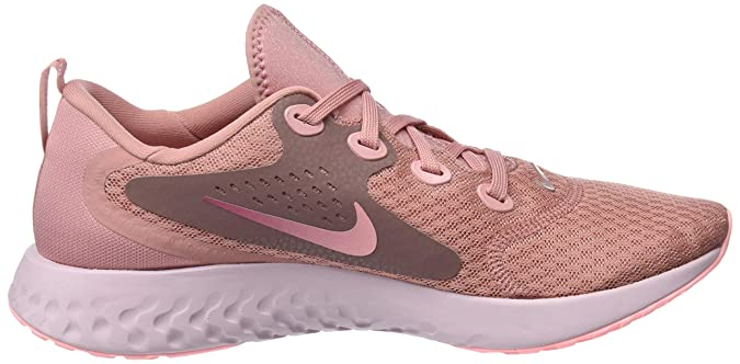 Amazon.com | Nike Womens WMNS Legend React Low-Top Sneakers, Pink, 8.5 UK | Fashion Sneakers
