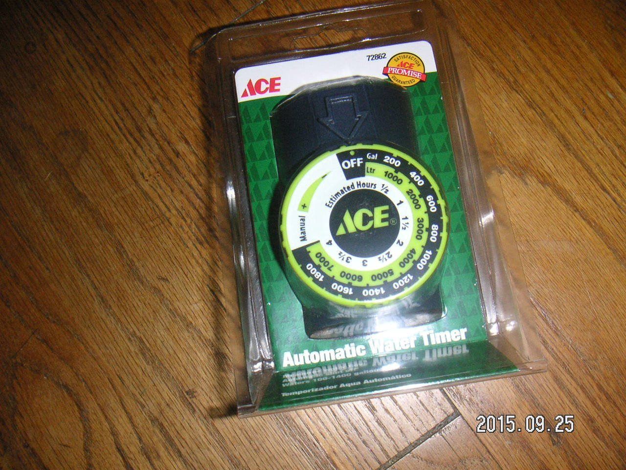 Ace Flowmaster Water Timer Automatically Shuts Offt