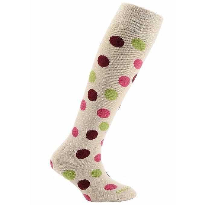 Horizon - Calcetines para botas de agua para niños (31-35 EU/Crema