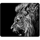Large Mousepad High Quality 15960 Roaring Lion Animal Art Natural Eco Rubber Mousepad Design Durable Mouse Mat Computer Accessories Big Gaming Mouse Pad