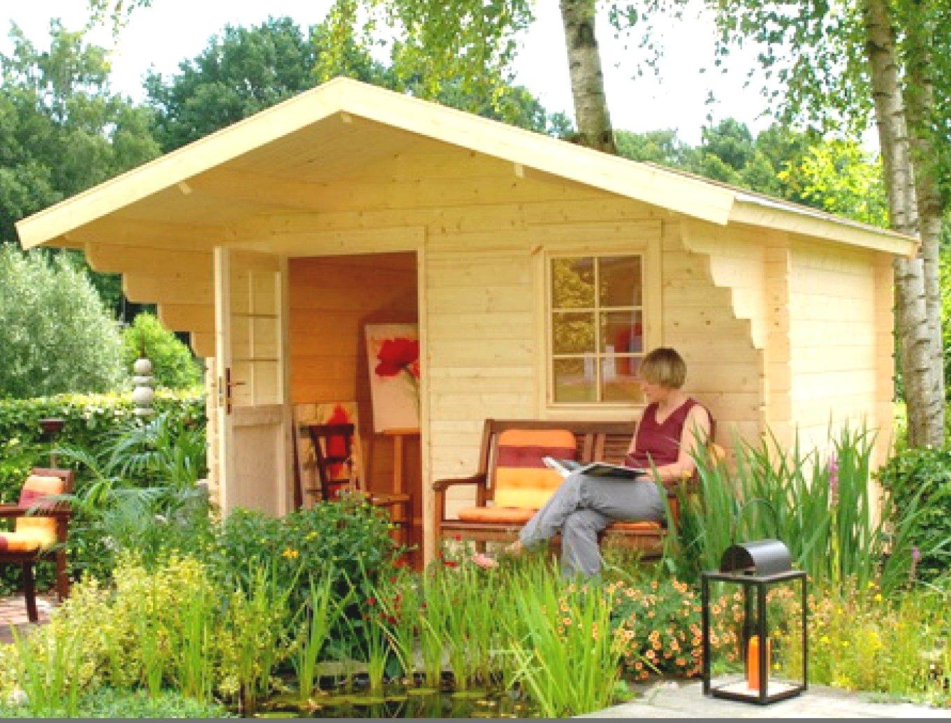 allwood cabin lillevilla weekender woodworking project plans