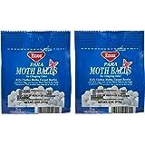 Enoz Original Moth Balls, 4 oz Each (2 Pack)