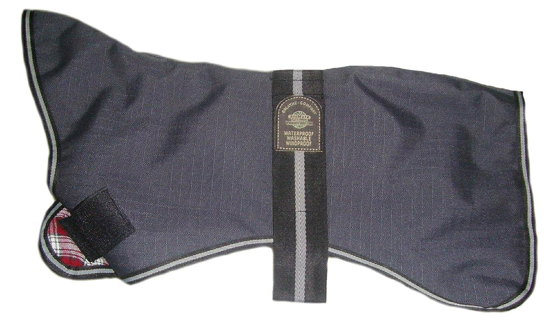 30-inch Outhwaite Padded Greyhound Dog Coat, 30-inch, Grey