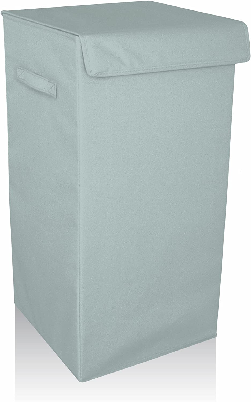 Cestino con filo in metallo traforato base: 22 x 22 x 20 cm colore: nero Box and Beyond top: 30 x 30 x 20 cm