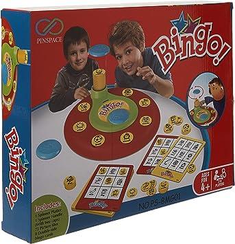 Juego de mesa de bingo, palabras PinSpace con número a juego, juegos de memoria, preescolar para niños de 4 años y más: Amazon.es: Deportes y aire libre