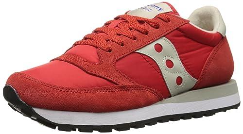 Saucony Jazz Original - Zapatillas de Deporte de Material Sintético Hombre, (Rosso - Bianco), 46.5: Amazon.es: Zapatos y complementos
