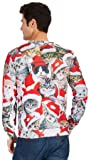 70S Mens Ugly Christmas Sweater Printing Cool