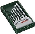 Bosch 2607019581-000, Jogo X-Line Brocas para Concreto, Verde, 7 Peças