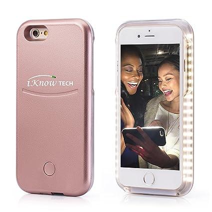 separation shoes 915da 9f06c Amazon.in: Buy iKNOWTECH Luxury Night Selfie Light Cover Bumper Case ...