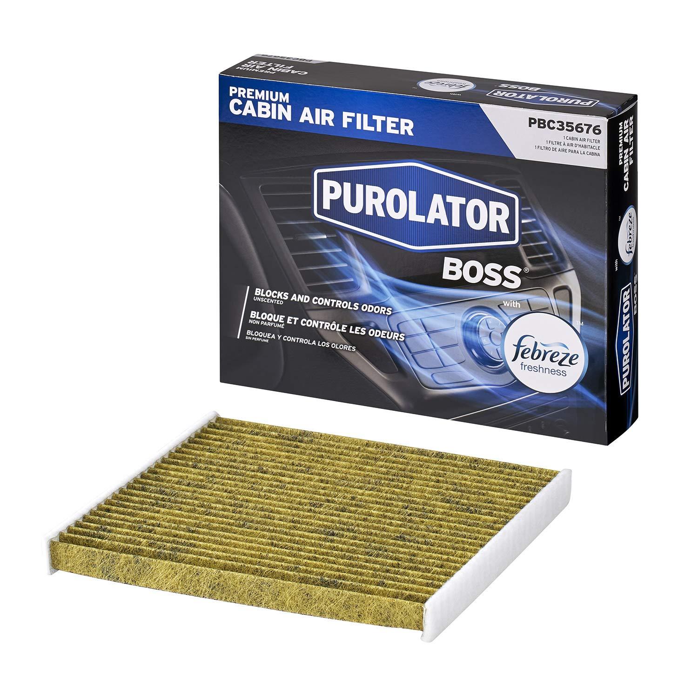 Purolator PBC35676 PurolatorBOSS Premium Cabin Air Filter with Febreze Freshness