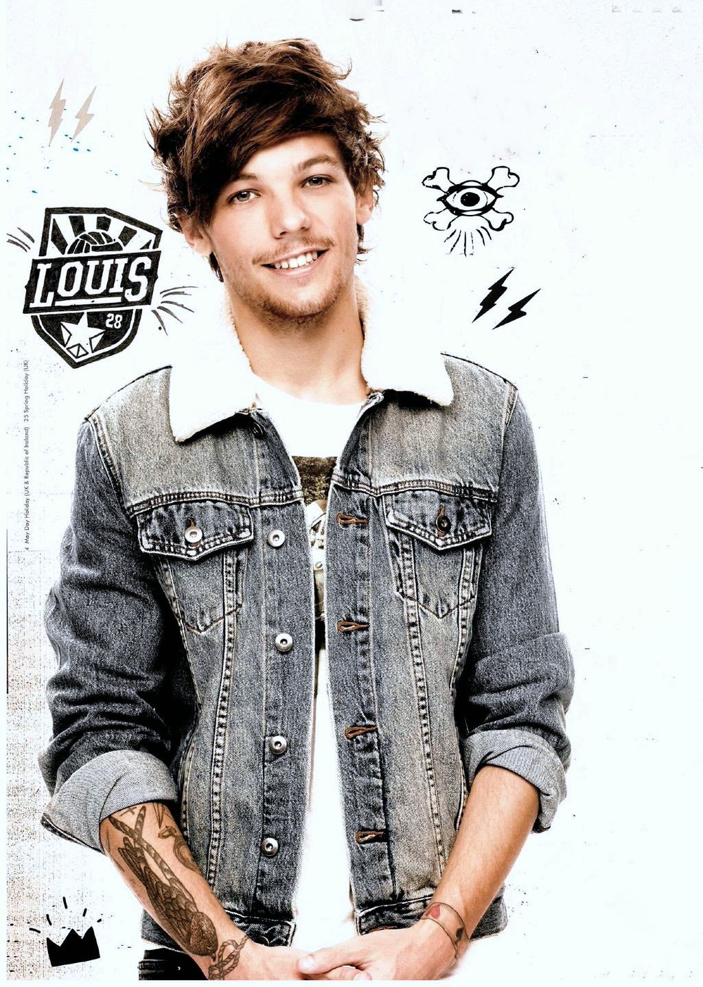 One Direction Louis Poster On Fine Art Paper Hd Quality