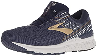 19d8343f1c Brooks Herren Adrenaline GTS 19 Mesh Navy Gold Grey Trainer 40 EU