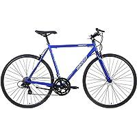 Mercier Flat Bar Steel Road Bike with Shimano Shifting, Galaxy ST Express Commuter Bike/Racer by Cycles