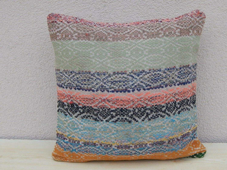 Amazoncom Unique Designer Kilim Pillow Cover Multi Color