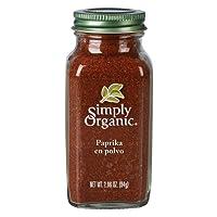 Simply Organic, Paprika En Polvo, 84 Gr.