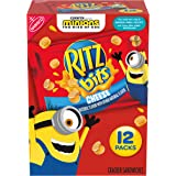 RITZ Crackers Bits Cheese Sandwich Crackers, 12 - 1 oz Packs