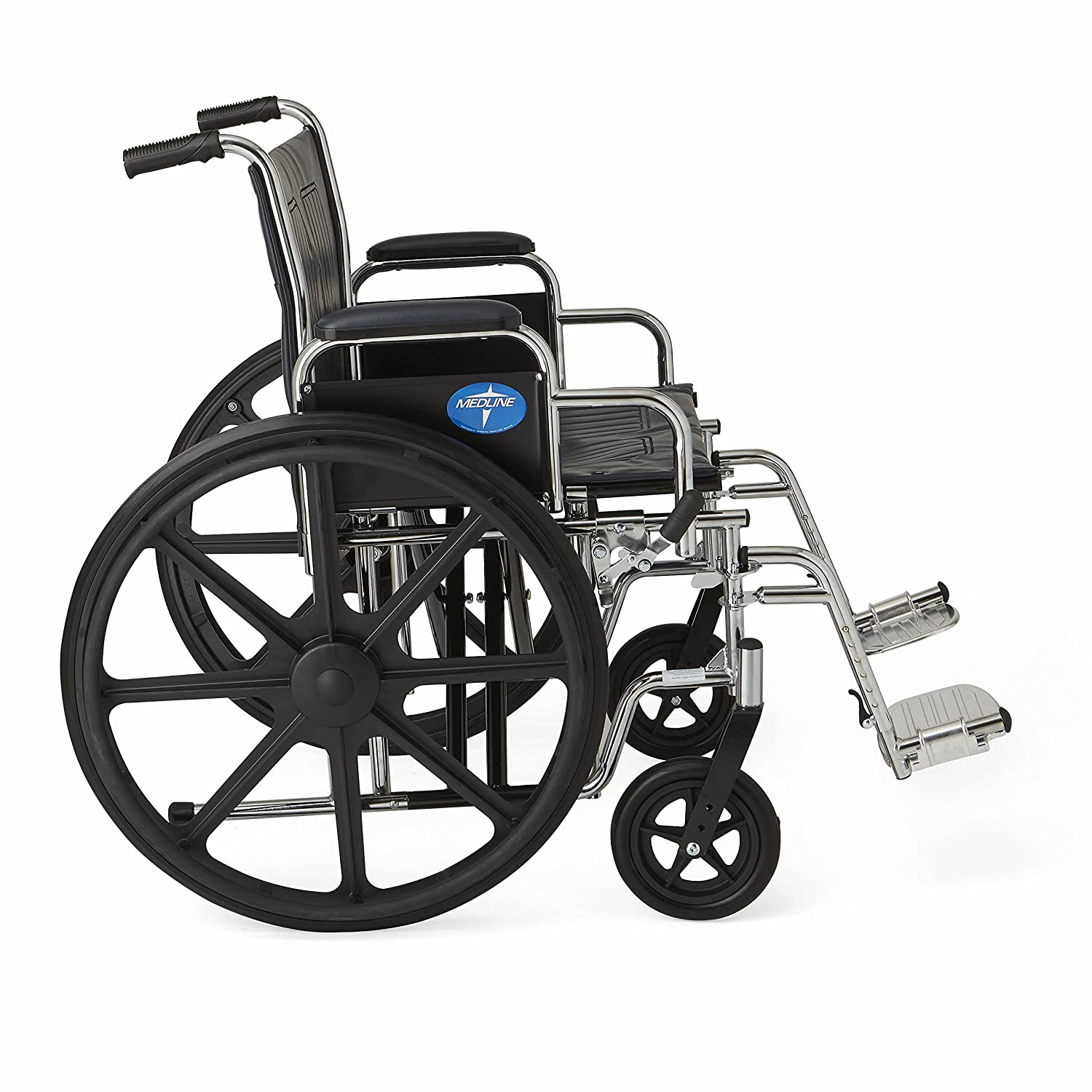 amazon com medline excel extra wide wheelchair 24 wide seat