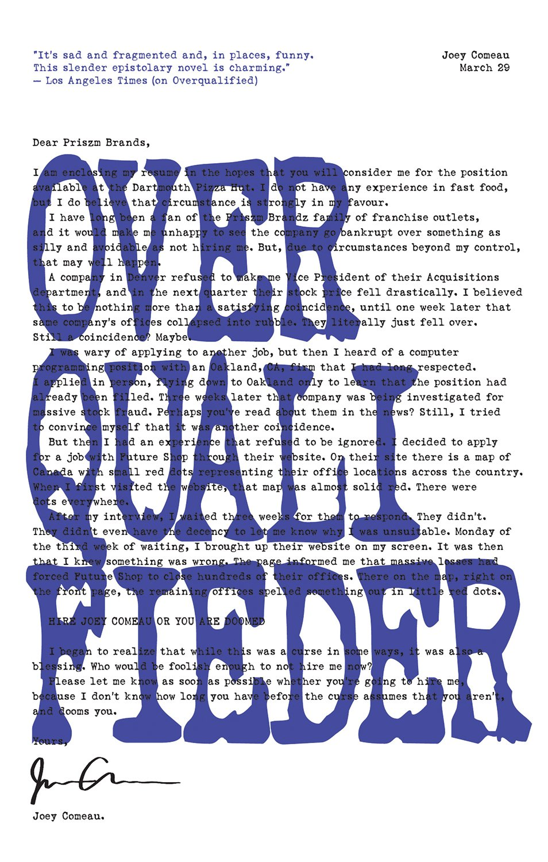 Read Online Overqualifieder pdf