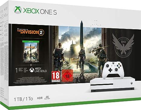 Microsoft Xbox One S - Consola 1 TB + División 2: Microsoft ...