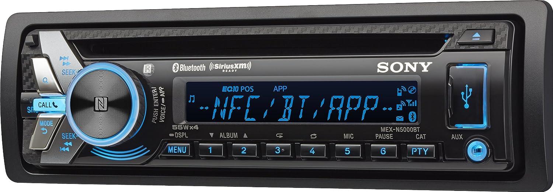 81W%2B tINukL._SL1500_ amazon com sony mexn5000bt cd car stereo receiver with bluetooth mex n5000bt wiring diagram at n-0.co