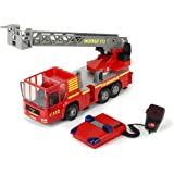 """Dickie Toys 16"""" Light and Sound Fire Truck Vehicle (With Working Pump)"""