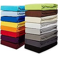 Belsonno® hoeslaken boxspringbed PREMIUM 190g/m2 matrasdikte 40 cm spanbeddoek boxspringbed-overtrek ÖKO-TEX STANDAARD…