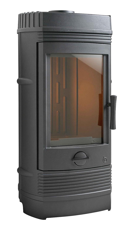 Invicta Gomont 12kW estufa de hierro fundido de leña: Amazon ...
