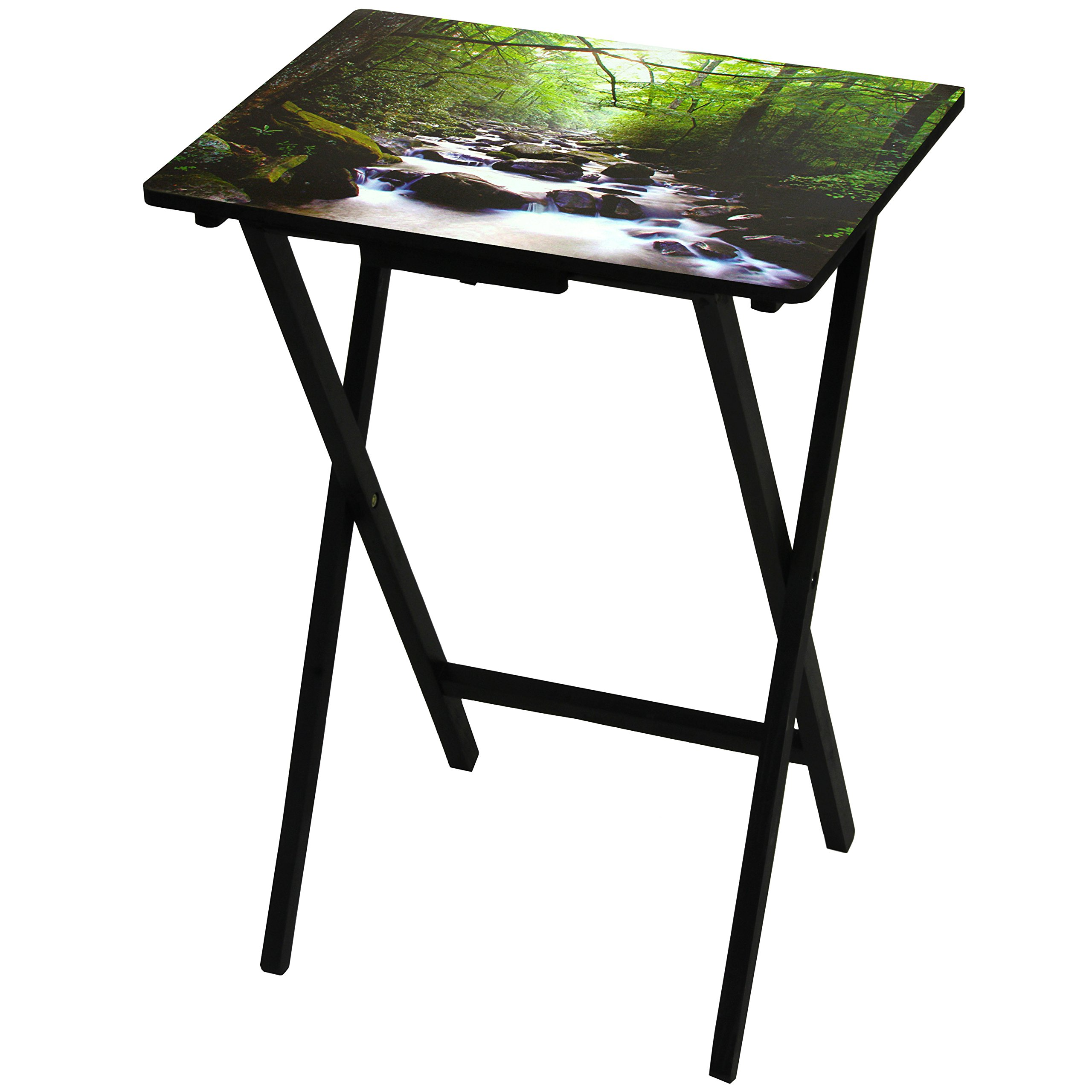 Oriental Furniture River of Life TV Tray by ORIENTAL FURNITURE