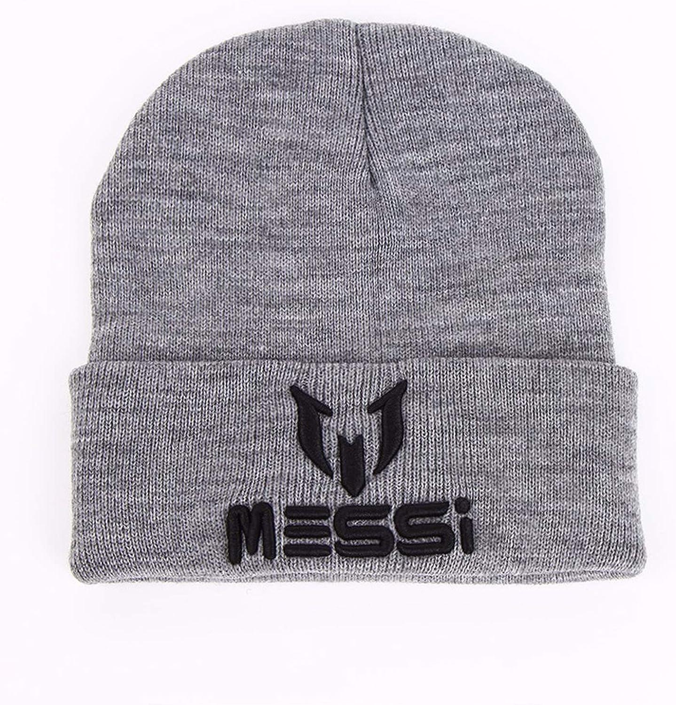 Eric Carl New Soccer Messi Fans Hat Women Men Skullies Black Gray Women Beanie Whiter Hats Beanies Knitted Hat Wool Cap