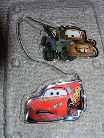 Amazon.com: Disney Cars Lighning McQueen and Mater Christmas ...