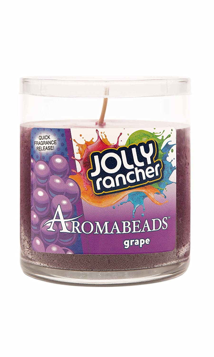 Hanna 's Aromabeads 6oz Hershey 's Candy Scented Candle パープル B01N7IRRF2 Jolly Rancher - Grape