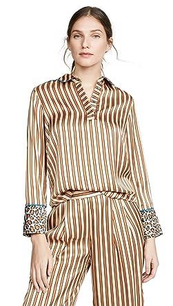 316a621b2ff0 Scotch & Soda Maison Scotch Women's Pajama Inspired Top, Combo A, ...