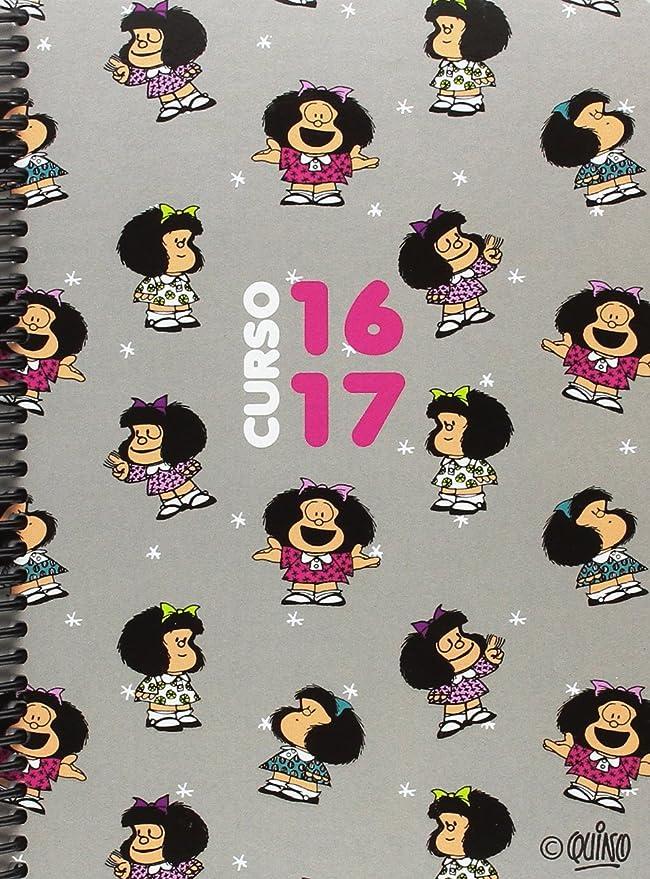 Grafoplas 75140423 Mafalda - Agenda escolar, A5, 16/17 ...
