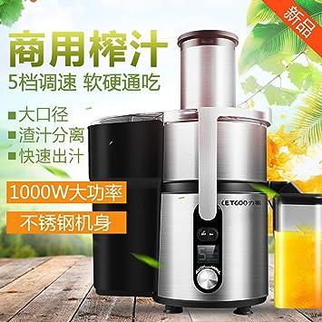 Juicer comercial Juicer comercial Tienda automática de jugos Tienda de té Fruta recién exprimida