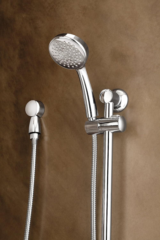 Chrome Moen Incorporated Moen 3868EP Showering Accessories-Basic Eco-Performance Handheld Shower