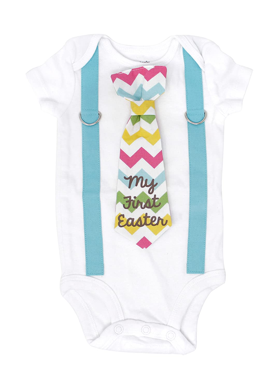 4602bd44c776 Cuddle Sleep Dream Baby Boy First Easter Outfit. My 1st Easter ...