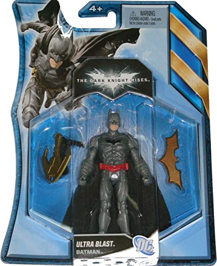 The Dark Knight Rises Movie Action Figure Caped Crusader Batman Batman 4 Inches