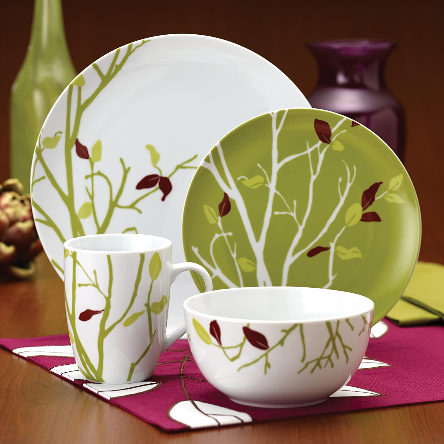 Amazon.com | Rachael Ray Dinnerware Seasons Changing 10-Inch Serving Bowl Crockery Serving Bowls & Amazon.com | Rachael Ray Dinnerware Seasons Changing 10-Inch Serving ...