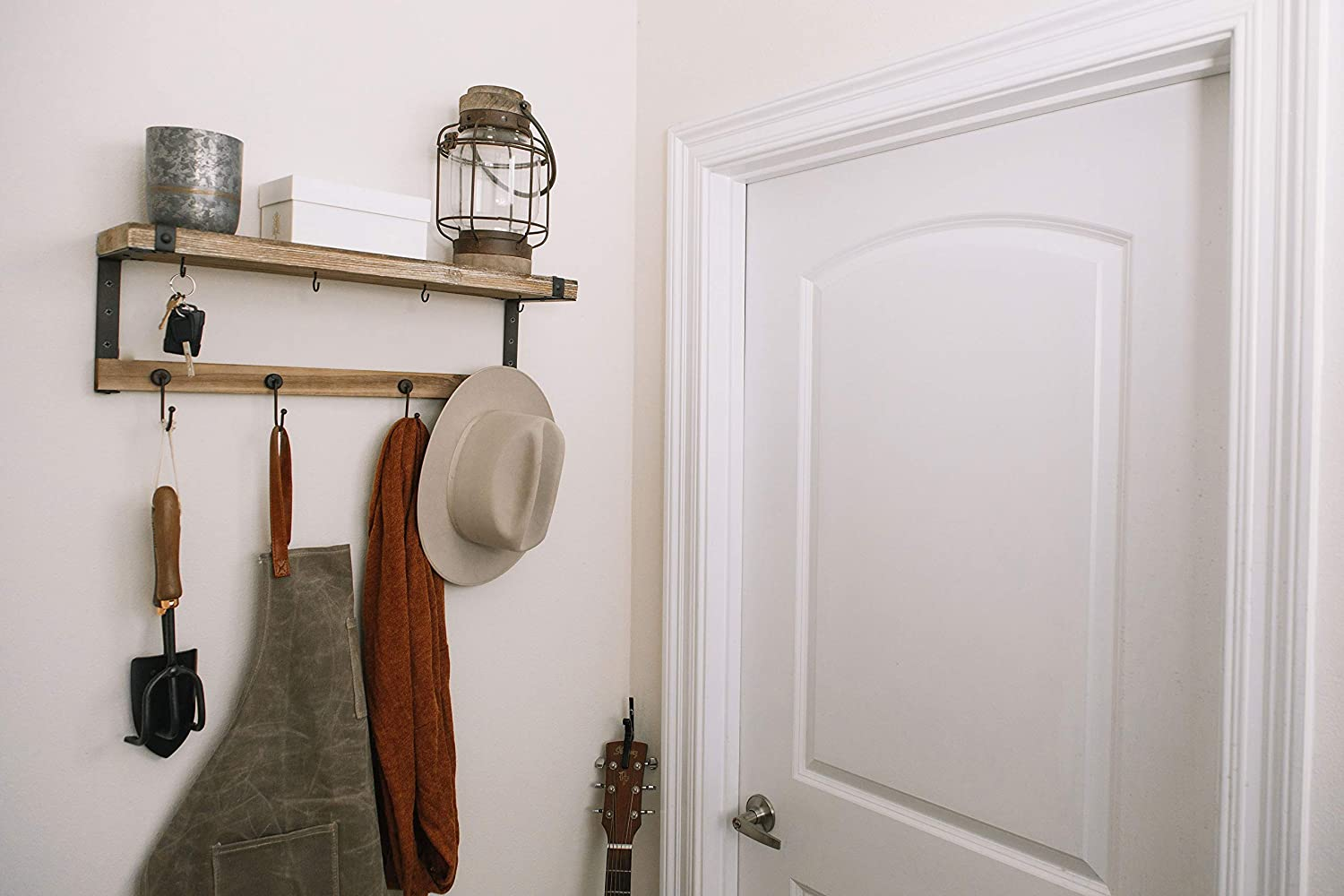 Amazon.com: Premium Home Entryway Coat Rack Shelf : 24