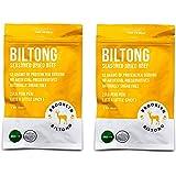 Biltong - Seasoned Dried Beef - Original Flavor 2oz (Peri Peri, 2-Pack)