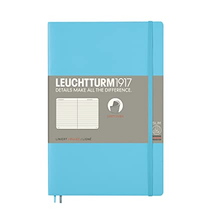 Amazon.com : Leuchtturm Softcover Paperback B6+ Ruled ...